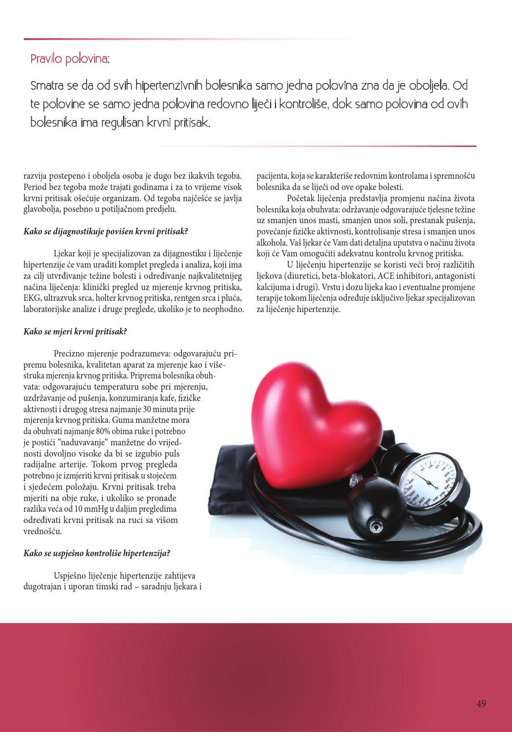pregled i liječenje hipertenzije fenotropil hipertenzija