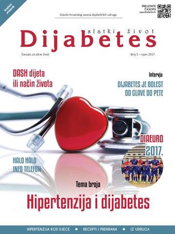 hipertenzije, dijabetesa tipa 2,
