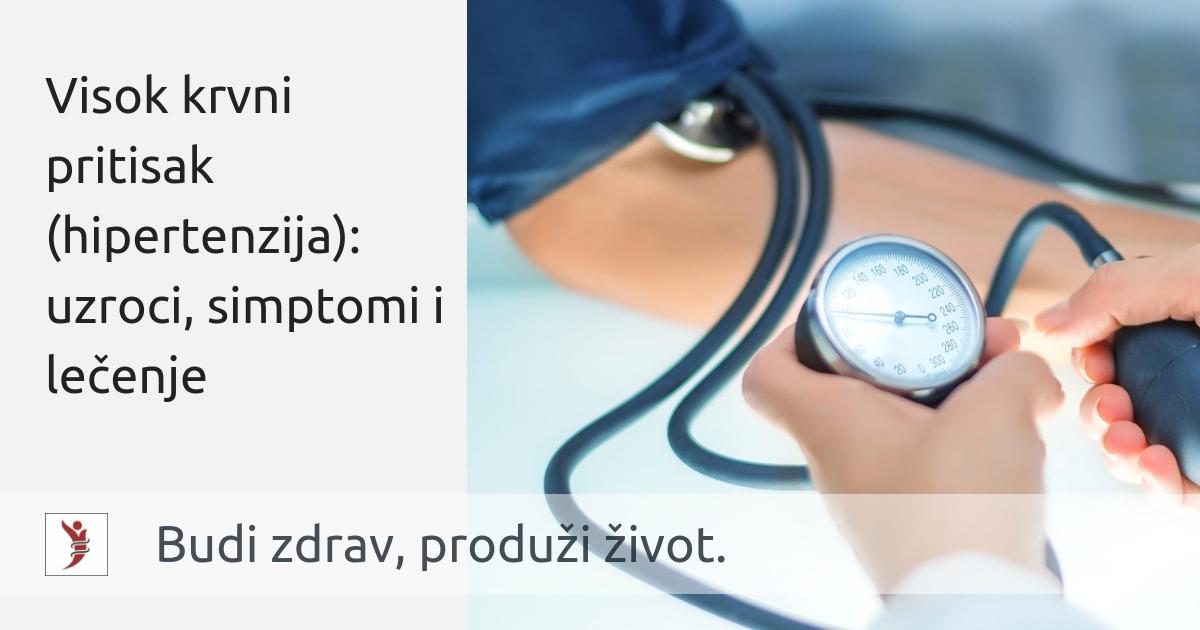 proizvodi preporuča u hipertenziji skrb za hitne slučajeve hipertenzije