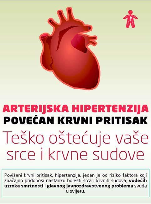 za razliku od hipertenzije