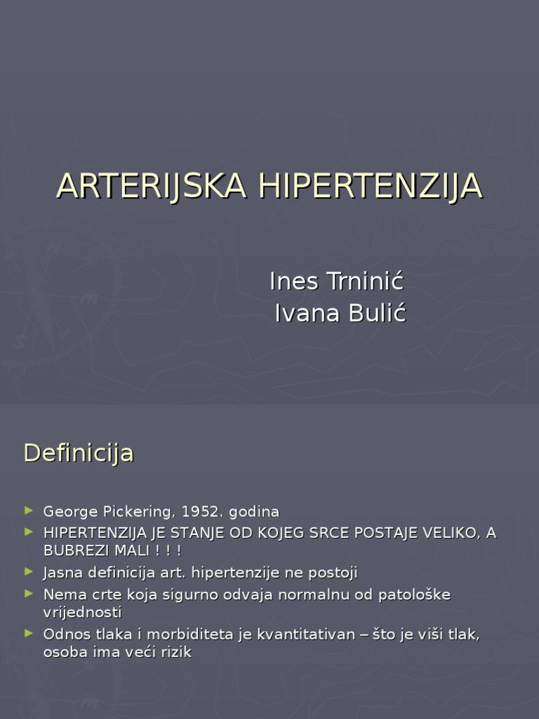 shema liječenja hipertenzije kod mladih