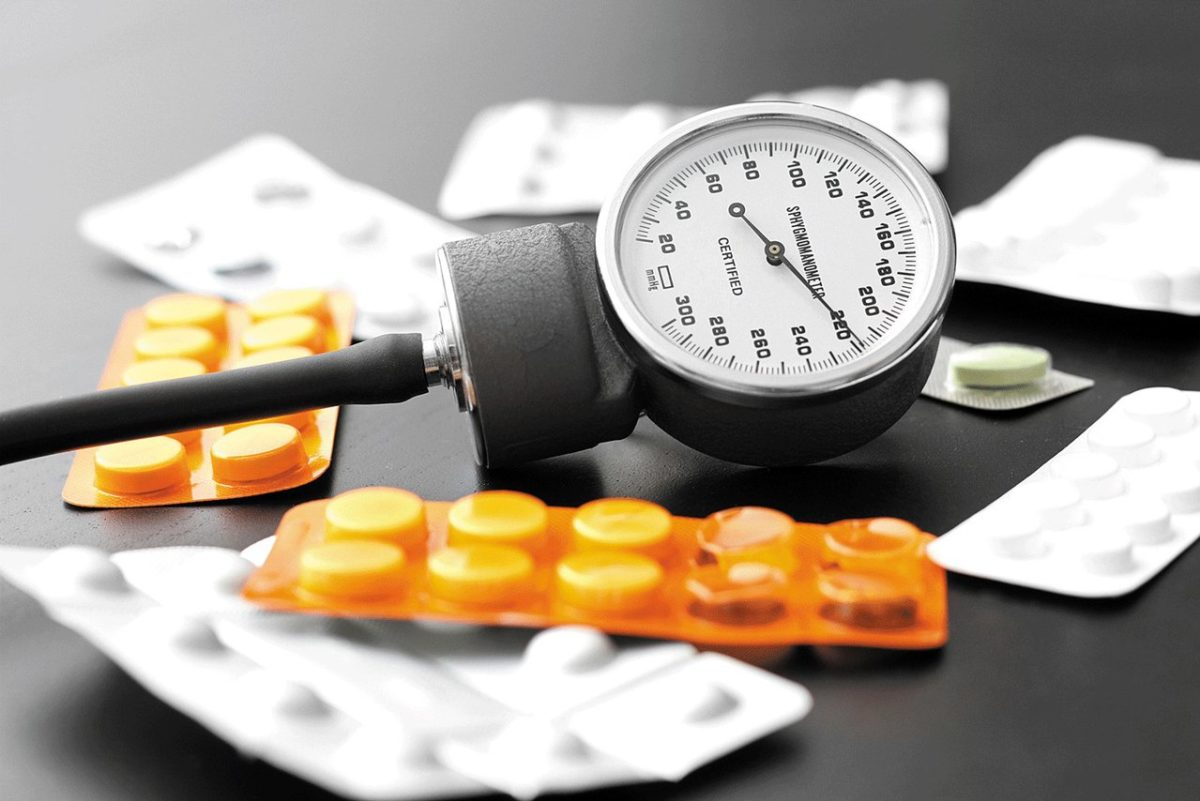 pet infuzije za hipertenziju