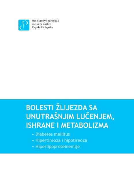 režimi hipertenzije kod dijabetesa melitusa