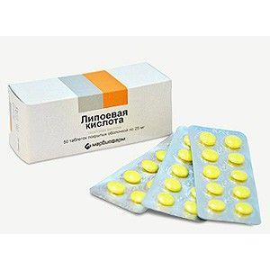 lipoična kiselina od hipertenzije kada se stavi hipertenzija
