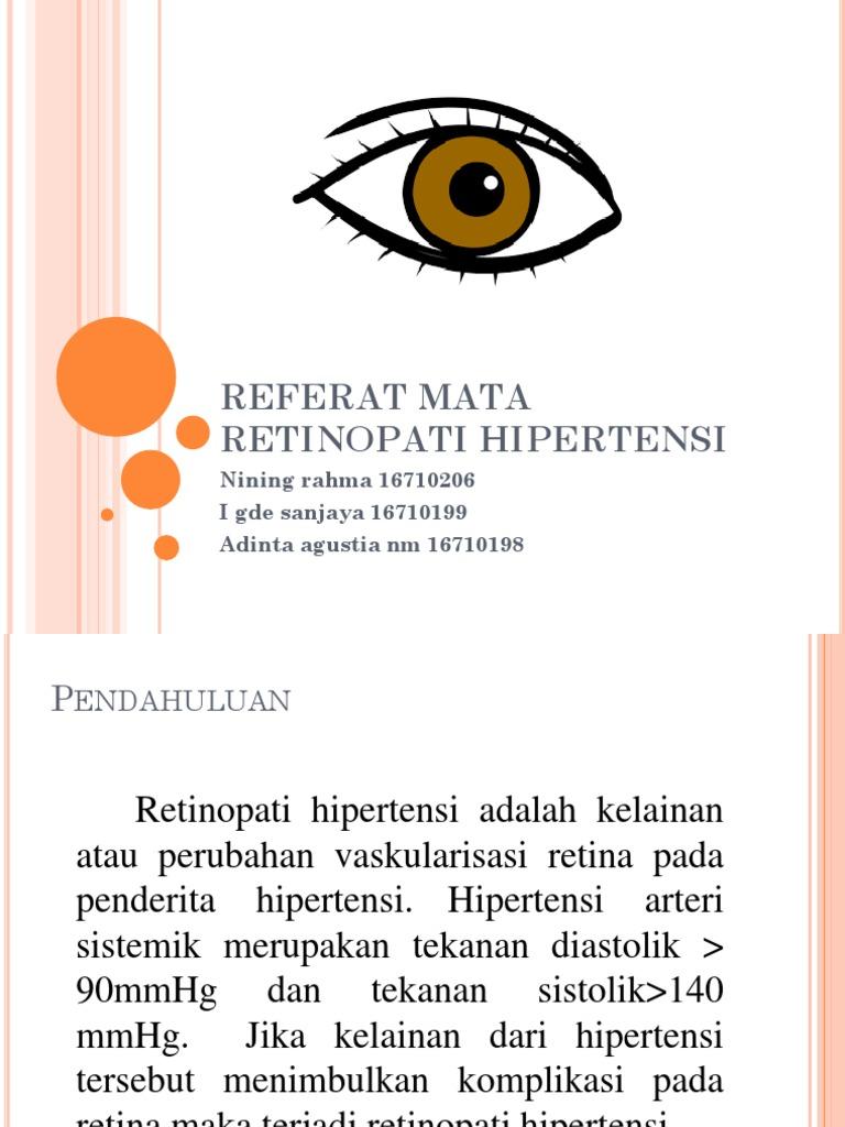 retine i hipertenzija