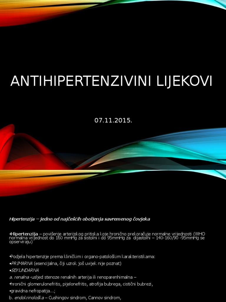 tablete od hipertenzije pijelonefritisa