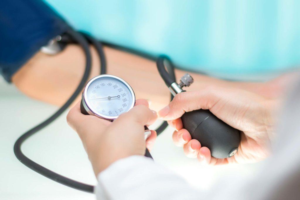 u nastupu hipertenzije treba
