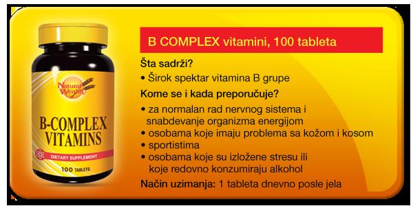 kompleks vitamini za ime hipertenzije