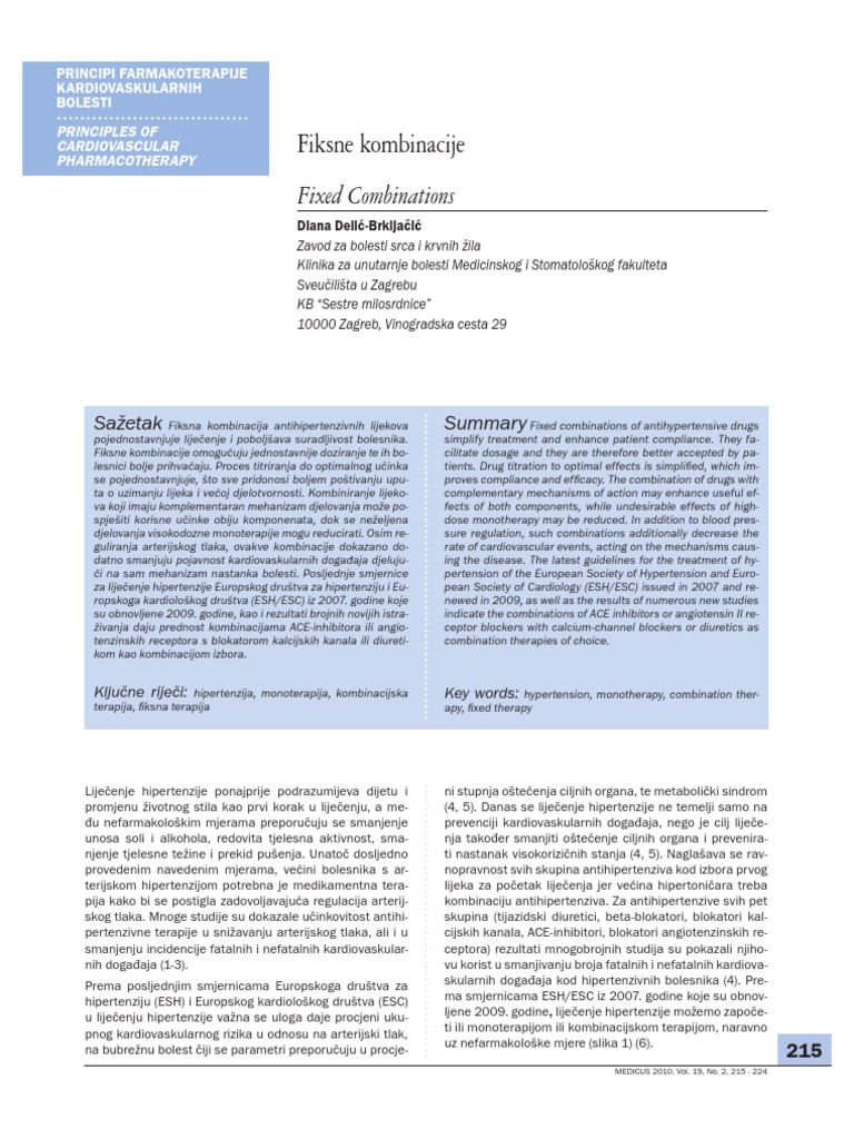 lijekovi za popis srce pilule hidrocefalus i hipertenzija