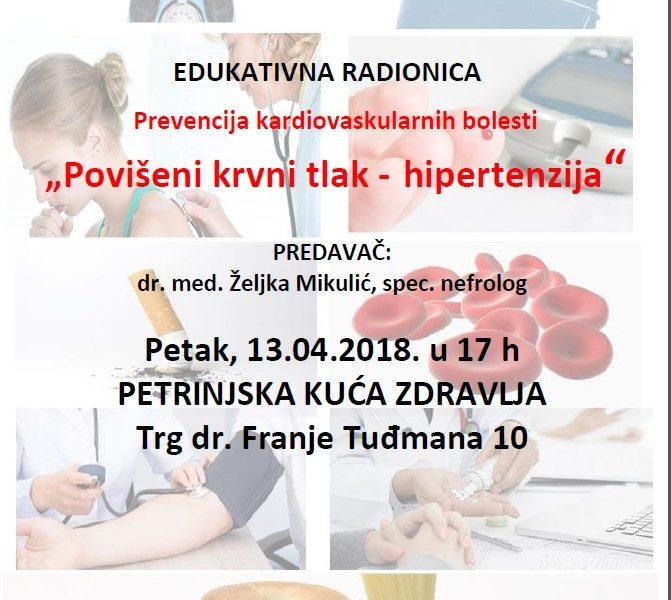 za prevenciju hipertenzije