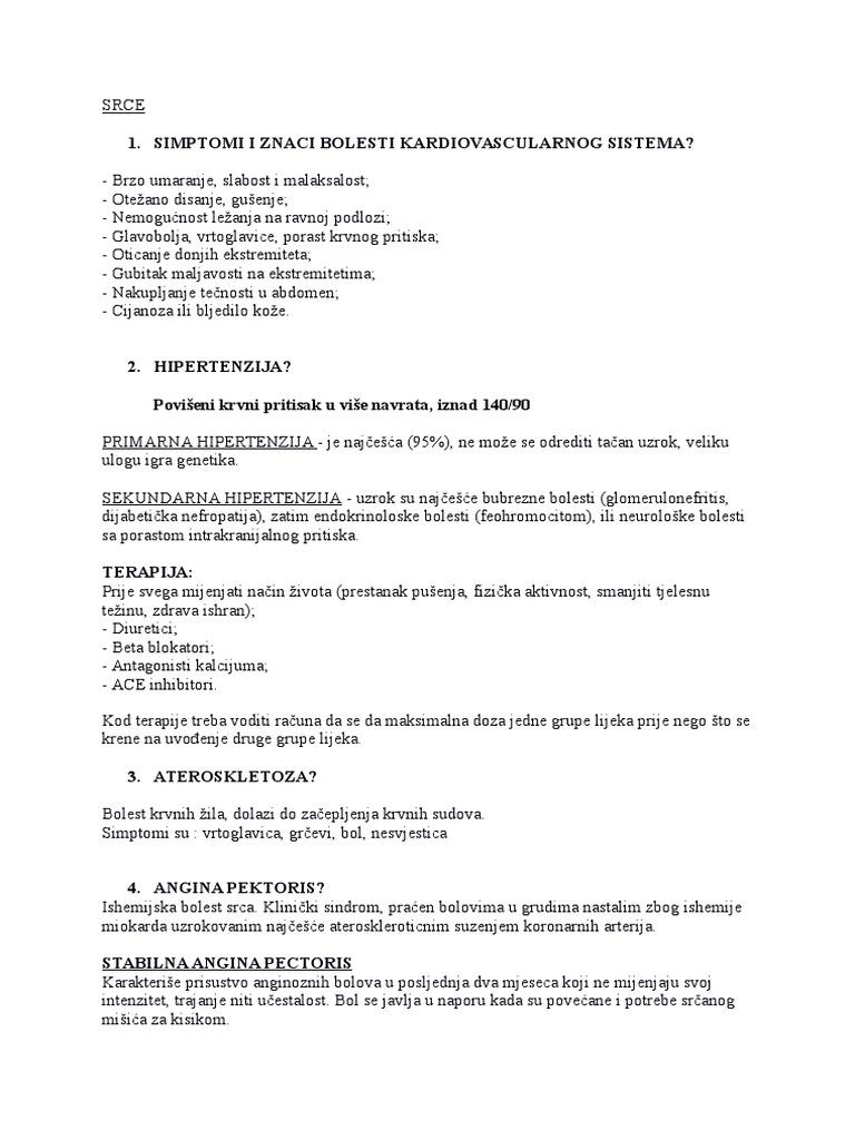 Liječenje glomerulonefritisa hipertenzije
