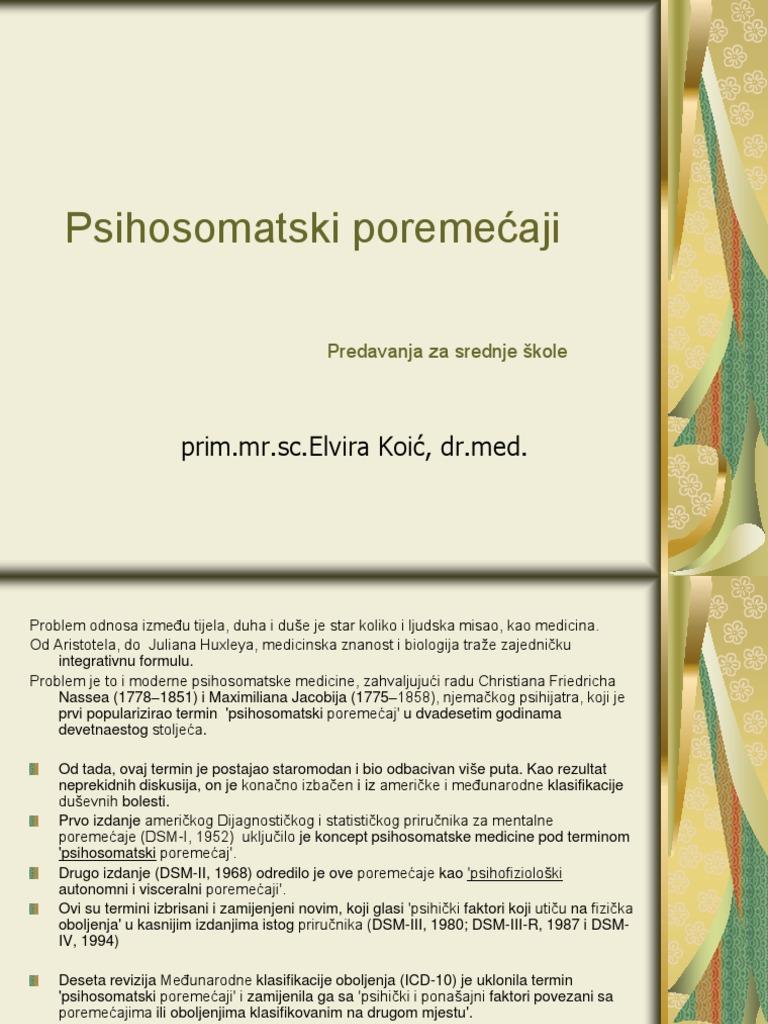 psihosomatski liječenje hipertenzije