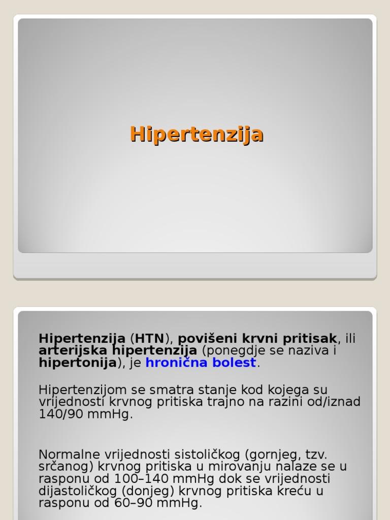 što je maligni oblik hipertenzije sbiten hipertenzija