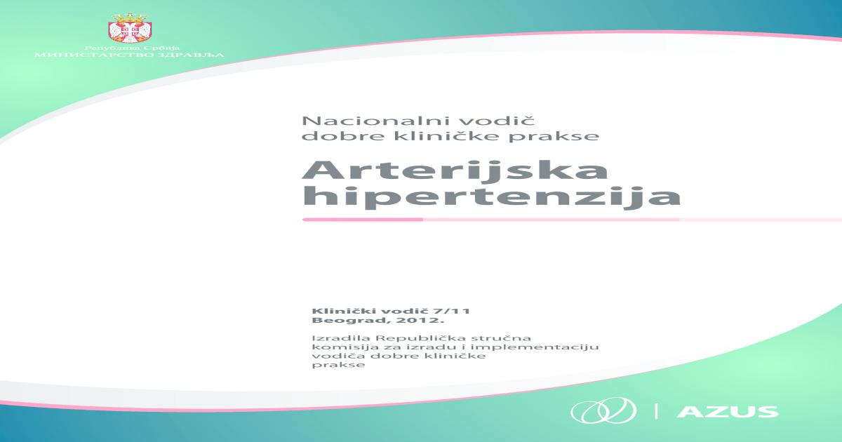 vazospazma hipertenzija