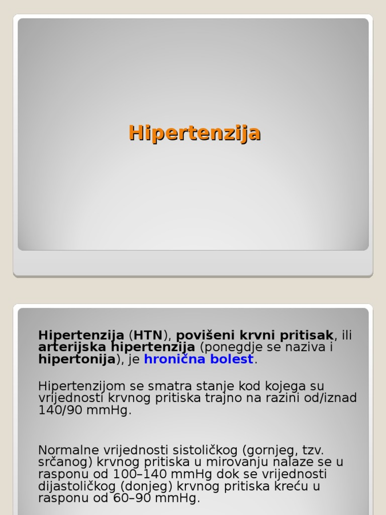 who podjela rizika hipertenzije nove načine za liječenje hipertenzije